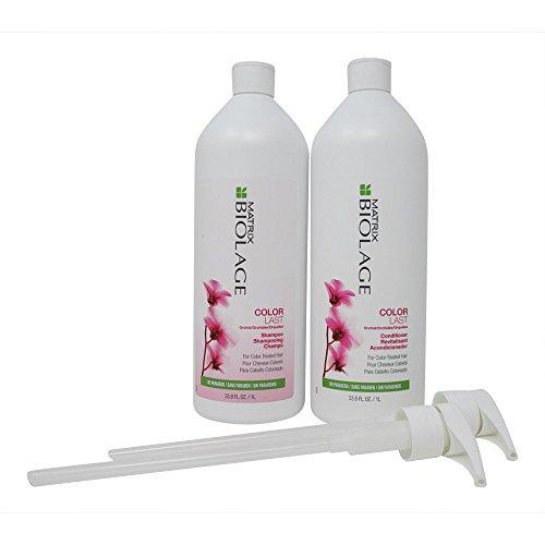 Matrix Biolage Colorlast A été Colortheraphie Shampooing 1000 ml et après-shampoing 1000 ml de