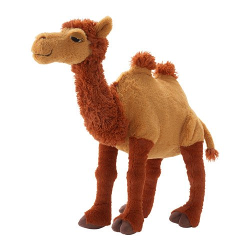 Preisvergleich Produktbild IKEA ÖNSKAD Stoffspielzeug, Kamel 46 cm