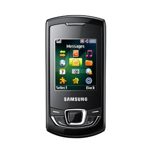 Samsung E2550 Téléphone portable GSM/EDGE/Bi-Bande Bluetooth Noir