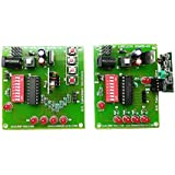 BMES 433 Mhz RF Module Wireless Encoder Decoder Boards HT12D HT12E Complete Set