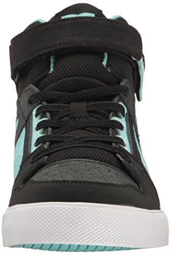 DC - ragazza Spartan l'alta Ev scarpa Black/Aqua