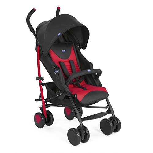 Chicco New Echo Stroller with Bumper Bar Scarlet Best Price and Cheapest