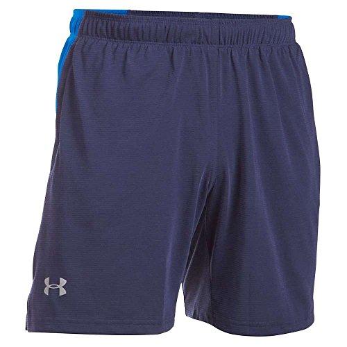 Under Armour Running-Pantaloni corti da uomo UA Streaker, Uomo, Running - Kurze hose Ua Streaker Shorts, Navy, M