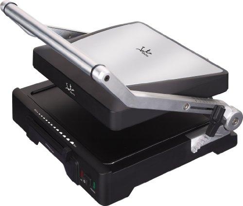 Jata GR1100 Grill de asar doble, línea profesional, Placas mixtas: 27,5 x 24 cm, Antiadherente, Libre...