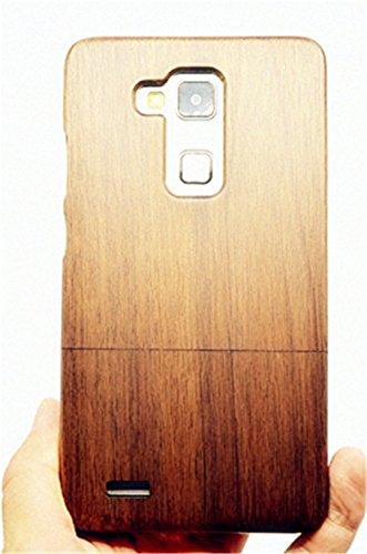 RoseFlower(TM) Huawei Ascend Mate 7 Holzhülle - Walnuss - NatürlicheHandgemachteBambus / Holz Schutzhüllemit Kostenlose Displayschutzfolie für Ihr Smartphone