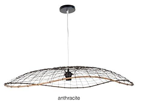 Hängeleuchte Form Dome aus Metall kabelgebunden ID. Details Metallic-Lackierung.