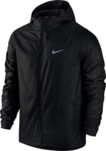 Nike Herren Shield Racer Jacke, schwarz, L-48/50 (Racer Jacke Herren)