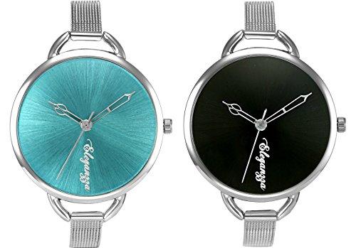 Eleganzza Analogue Multi-Colour Dial Women's Watch Combo