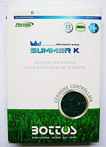 concime fertilizzante per prato bottos summer k 0-0-20 - kg 2