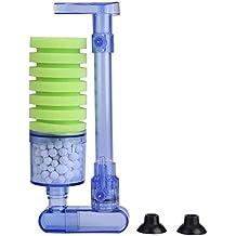Bomba de Aire con Filtro de Acuario Esponja Bioquímica Bomba de Oxígeno para Suministros de Mini