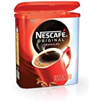 Nescafe Original café instantáneo gránulos lata 1kg Ref 12079950123315