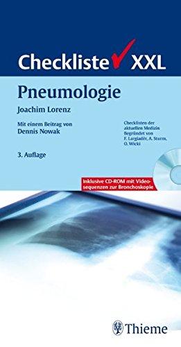 Checkliste XXL Pneumologie (Reihe, CHECKLISTEN XXL)