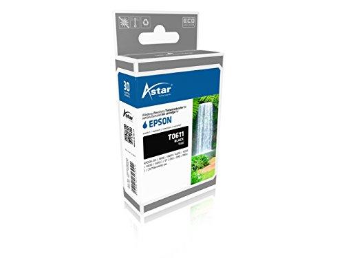 Preisvergleich Produktbild Astar AS15611 Tintenpatrone kompatibel zu EPSON T0611, 280 Seiten, schwarz