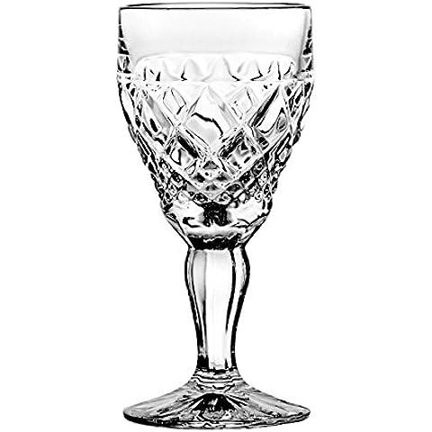 Crystal Julia 3267 licor vidrio cristal al plomo 6 pcs, 80 ml