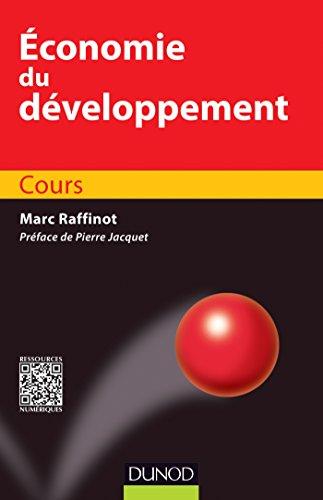 Economie du développement - Cours par Marc Raffinot