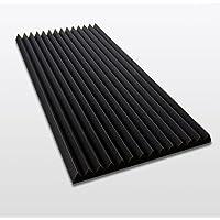 FSE Pyra 3100 Verpackungseinheit = 1 Platte = ca. 0,5 m/² ca flammhemmend nach MVSS302 100x50x3cm Anthrazit Schwarz