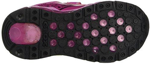 Geox J ANDROID B Mädchen Sneakers Pink (Dk FUCHSIAC8321)