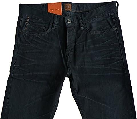 Hugo Boss - Jeans - coupe droite - Homme Noir Noir 38W x 34L