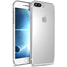 Funda iPhone 7 Plus, Ubegood iPhone 7 Plus Funda Carcasa Case Bumper [Shock-Absorción] [Anti-Arañazos] Slim Silicona Case Cover para iPhone 7 Plus -Transparente