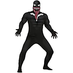 Guirca- Disfraz adulto superhéroe oscuro, Talla 48-50 (84742.0)
