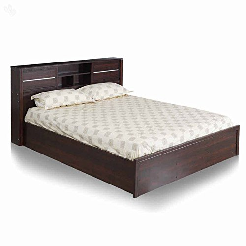 Royal Oak Milan Queen Size Bed (Honey Brown)