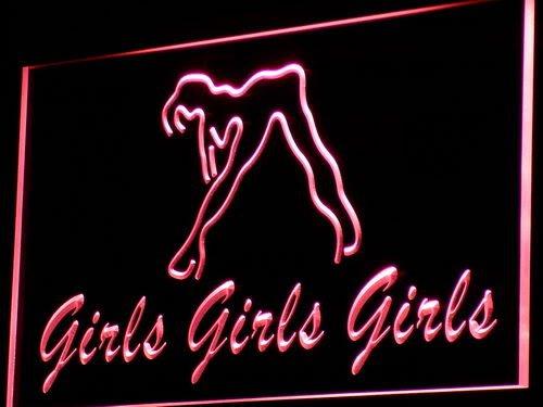ADV PRO i767-r Girls Night Club Bar Beer Wine Neon Light Sign Barlicht Neonlicht Lichtwerbung