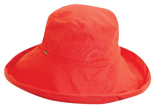 scala-womens-cotton-big-brim-hat-coral-one-size