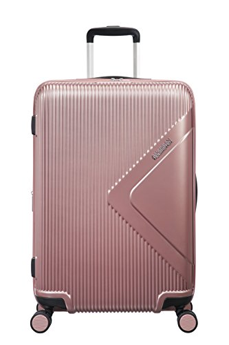 American Tourister Modern Dream Spinner 68.5cm Expandable, 70/81L - 3.7 KG Bagage cabine, 68 cm, 70 liters, Rose (Rose Gold)