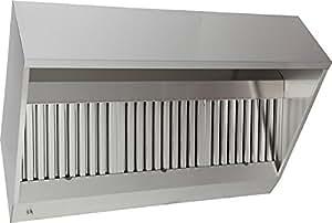 AlvÈne - caisson de hotte avec ventilateur et variateur - 2500 x 915