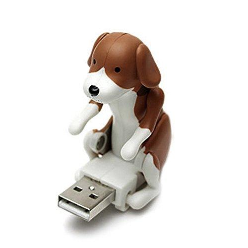 Hrph Lustig Süß Cool USB Buckeln Spot Hund Spielzeug Christmas Geschenk Kaffee... (Cool Hund Spielzeug)
