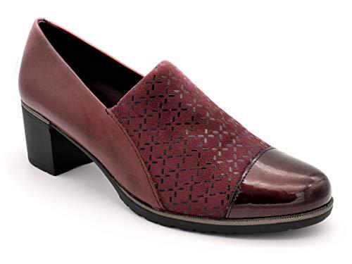 Zapato Mocasin PITILLOS M-5734-40 EU - Burdeos