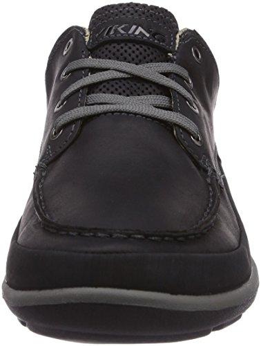 Viking Fenrir M Gtx, Bottines Basses Style Mocassin Sans Doublure Intérieure Homme Noir - Schwarz (Black/Pewter 278)