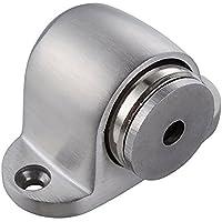 TRIXES Ferma Porta Magnetico a Pavimento in Metallo Spazzolato
