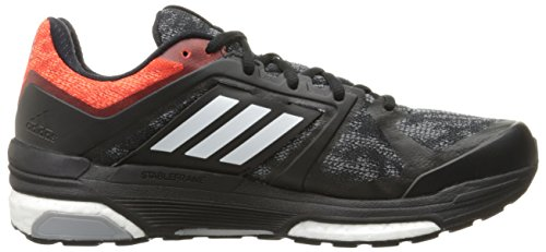 Adidas Herren Supernova Sequence Boost 8 Laufschuh Black/White/Bold Orange