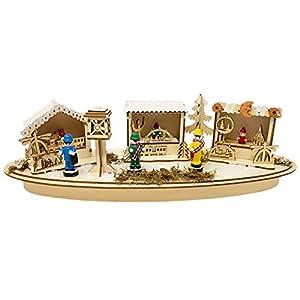 Krippenhandel Belén Comercio de Navidad