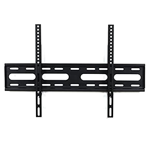 Funime Ultra Slim Fixed TV Wall Mount Bracket for 32 -65 Inch LCD, LED, 3D, Plasma Screens - Weight Capacity up to 75kg(165lbs) - Max VESA 600x400mm - 10 Year
