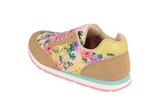 Gioseppo Temada Mädchen Sneaker mehrfarbig (BEIG/ROSA)