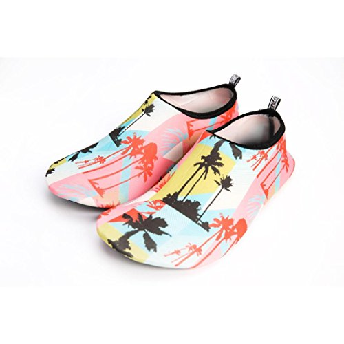 Familizo-scarpe Scarpe❤️fami Unisexe Eau Aqua Chaussettes Yoga Beach Dance Nager Sur Scarpe Da Sub Nero