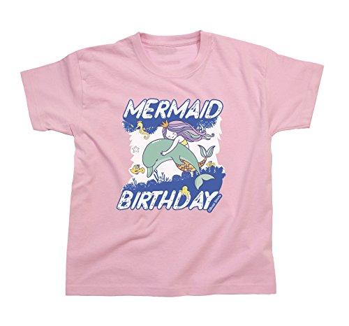 bc0d9d002268 Buzz Shirts Chicas Mermaid CUMPLEAÑOS Dolphin Camiseta Edad de los niños  3-14 Years