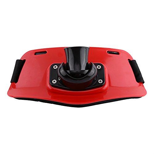 Delaman Einstellbare Gürtel Angelrute Pol Halter für Angeln an Bord ( Color : Red - Für Boot Fisch-rod-halter