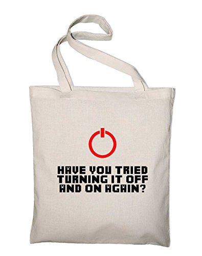 Have you tried turning it on and off Jutebeutel, Beutel, Stoffbeutel, Baumwolltasche, natur Natur