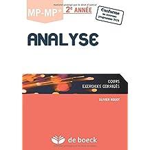 Analyse MP-MP* 2è Année / Cours et exercices corrigés