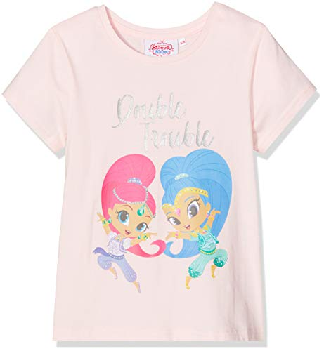 Shimmer & Shine Mädchen T-Shirt Double Trouble Pink 3-4 Jahre