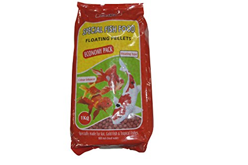 Aquaatica Taiyo Special Fish Food Extra Large (Red, 1 Kg)