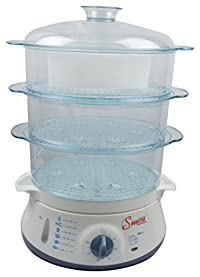 shinestar Fs_024 400-Watt Food Steamer (White)