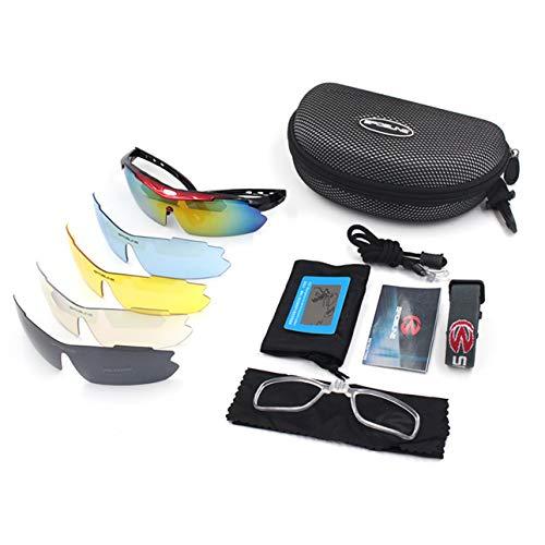 Sport Fahrrad Brille SPOSUNE JH014 Radfahren Sonnenbrillen Männer Frauen Brille