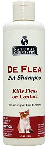 Natural Chemistry De pulgas Listo para Usar pulgas Champú para Gatos y Gatitos 8oz