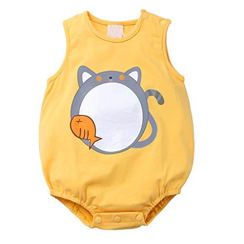Baby Jumpsuit Newborn Infant Cartoon Print Summer Romper Bodysuit Sunsuit Bunny Infant Bodysuit