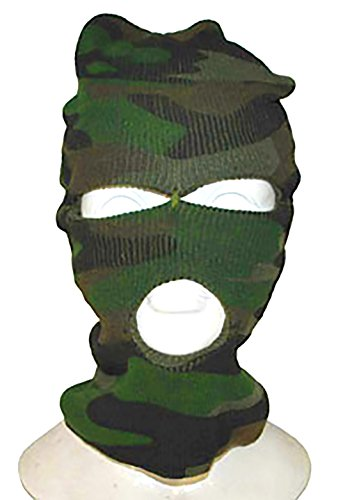 Halloweenia - Verbrecher Sturmmaske Camouflage Military Army Mottoparty -