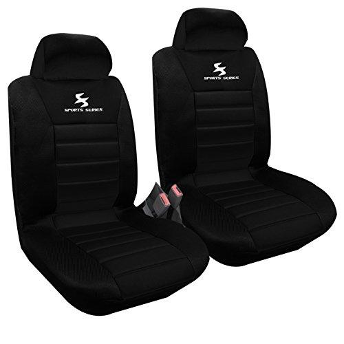 WOLTU-Set-Coprisedili-Anteriori-Auto-2-Posti-Seat-Cover-Protezioni-Universali-per-Macchina-Tessuto-Poliestere